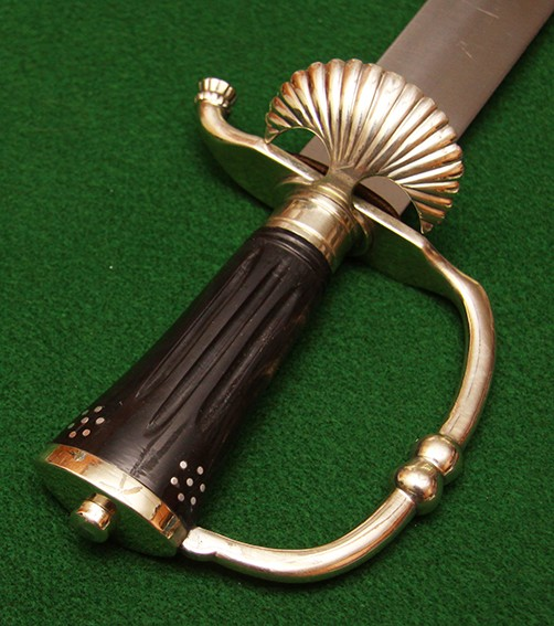 Anglo-Dutch Cutlass - hilt view