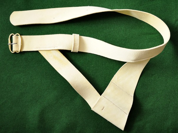 Soldier waistbelt with simple frog